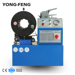 hydraulic hose crimping cutting skiving machine in one equipment for hydraulic hose