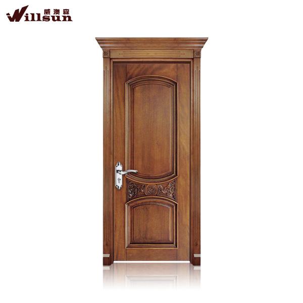 Puerta de madera exterior de madera modernos dise os de for Puertas de madera exterior de segunda mano