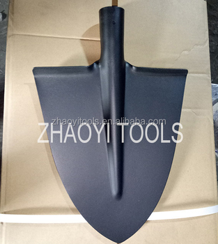 5001510 high quality triangle type digging garden spade point shovel