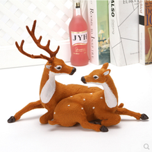 Wholesale Xmas Decoration tall deer white reindeer xmas decoration