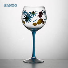 Sanzo Handmade Glassware Manufacturer red wine/grape glass goblet drinking glass wine cup 350ml/12oz