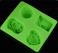 RENJIA ball shape chocolate mould,fondant mold 3d silicon mould,3d silicone soap molds