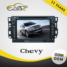 HANOSVOR 2 Din Chevrolet Epica Car DVD Playr GPS Navigation System with BT/TV/iPod/Radio/AM/FM