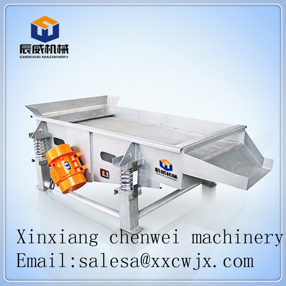 Linear sand gravel vibrator screen s separator for mining industry