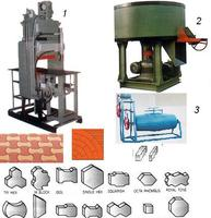 3 In 1 Plant To Make Fly Ash Bricks, Paving Blocks, Curb Stone And Tiles
