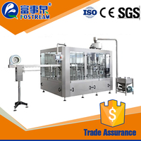 Alibaba supplier automatic branded mineral water plant/ bottle water filling whole line