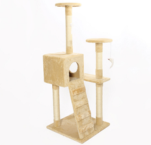 Nature Sisal Luxury Cat Tree,durable cat house,scratch cat tree house