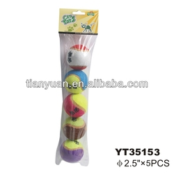 Best selling pet toys pet tennis ball China supplier -YT35153