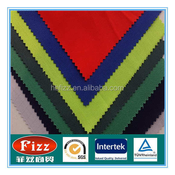 100% cotton satin/twill fabric for workwear with special finish