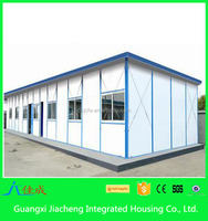 Mobile steel structure prefabricated house flat roof dome house