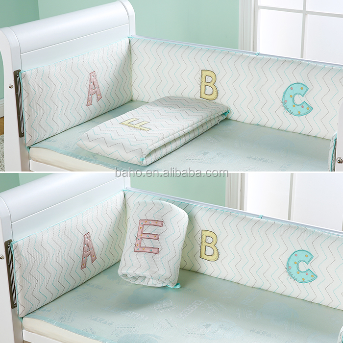 Baho kids Top Quality Healthy Safe Green Baby Bed Bumper