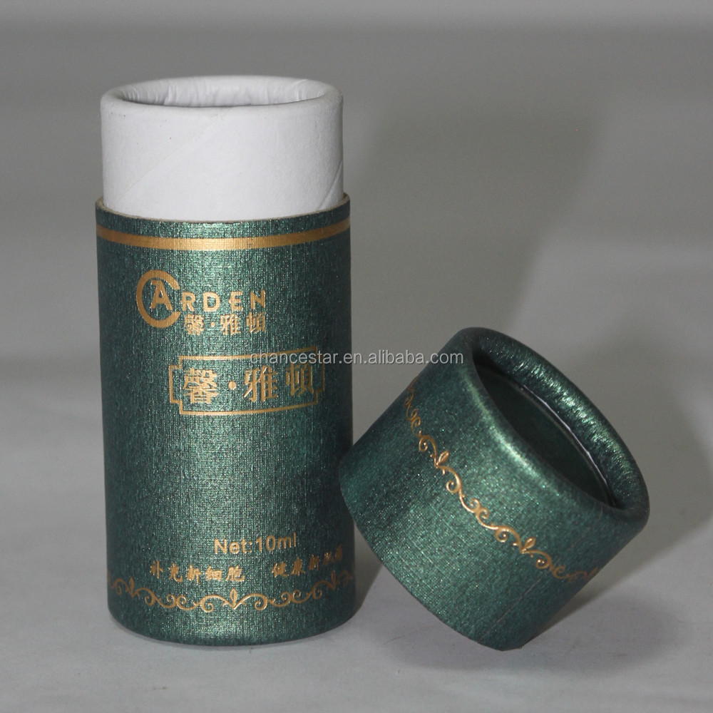 Small Round Cosmetic Cylinder Box Paper Tube for Package