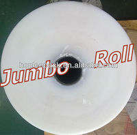 Jumbo roll stretch film LLDPE film