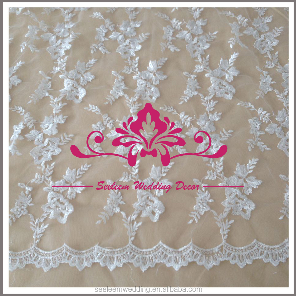 CL026 120 white elegant lace hand embroidery designs tablecloth