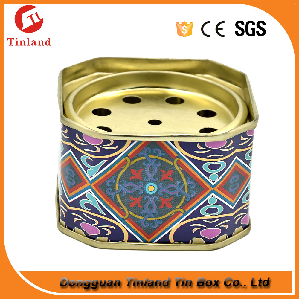 Wholesale Car Perfume Can Air Freshener Packing Tin Scent Air Freshener