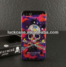2013 new Japanese skull printed case for iphone 5/iphone 5s OEM offered