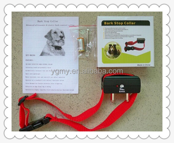 Anti-Bark Stop No Barking Dog Training Electric Shock Control Collar Terminator