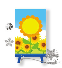 Hot sale diy toys small size 5d diamond painting with lovely pattern