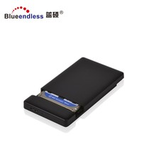 High Speed 2.5 inch laptop screwless 9.5mm sata to USB 3.0 sata external 2.5 hdd caddy enclosure