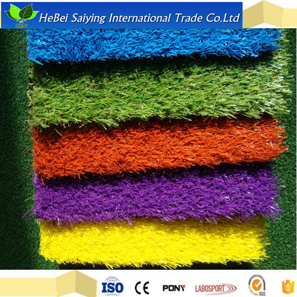 four colour wheat grass Artificial colour Grass Athletic Track