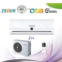 Guangdong ZESUN SKD CKD Split Wall Type Air Conditioner 9000btu-30000btu Asia Market