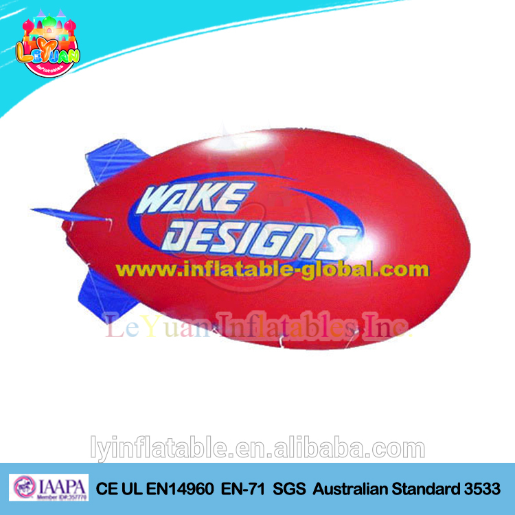 New inflatable advertising blimp/inflatable rc blimp airship for sale