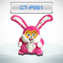 2015 newest electronic plush toy with wireless interactive feature