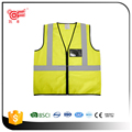 Hi vis cheap safety reflective vest with BSCI and EN20471 certificate