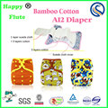happy flute baby cloth diaper reusable AI2 diapers factory OEM digital print