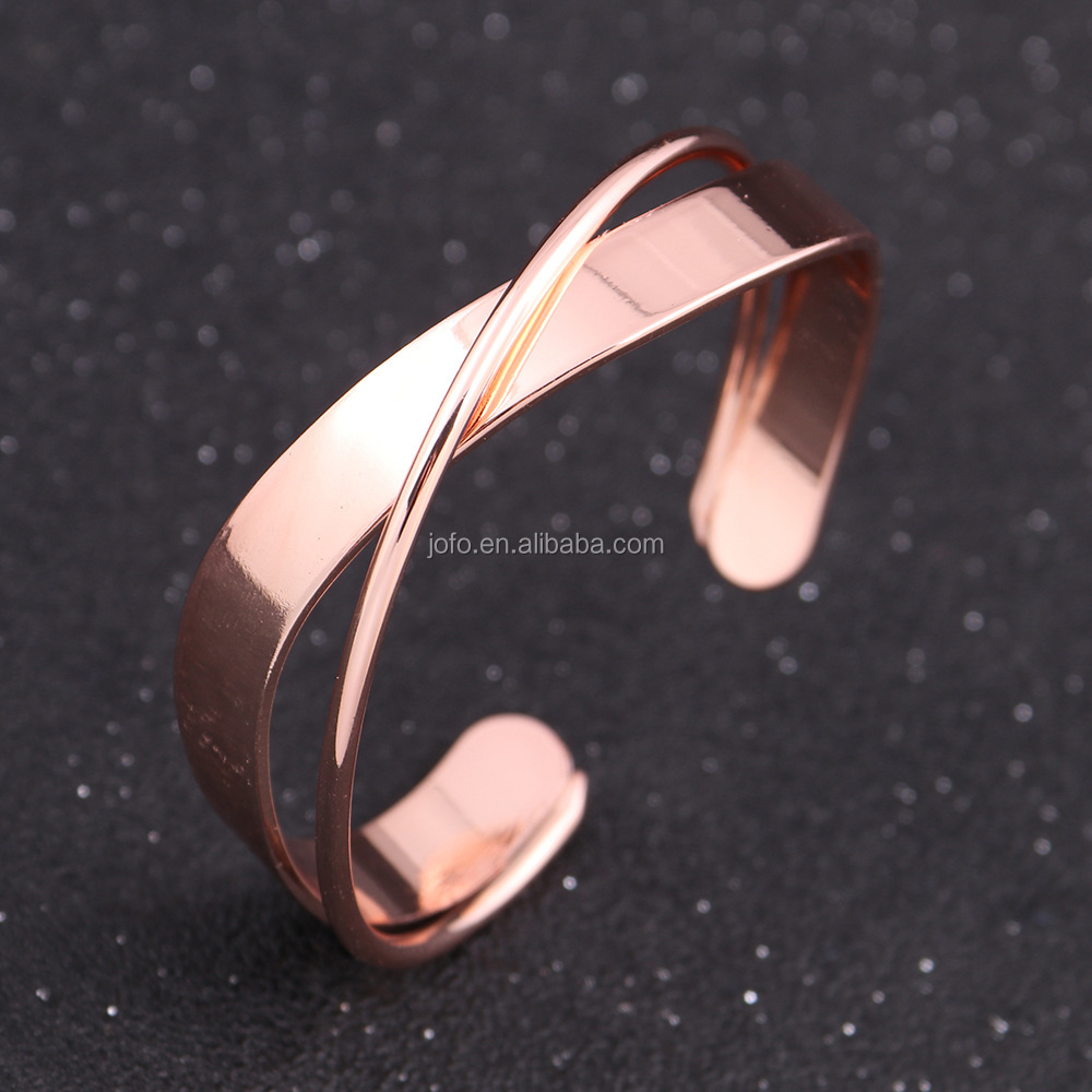 Hollow Out Geometry Bangle Wide Cuff Opened Bangles Big Bracelet For Women Party Jewely