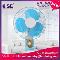 3 speed choices with oscillation function custom best wall fan with great price