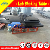 lab shaking table/wilfley vibrating table for gold/iron/Tungsten/Tin/Manganese ore concentrate