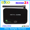 android 5.1 tv box 2gb ram 16gb rom Z4 octa core RK3368 smart set top box