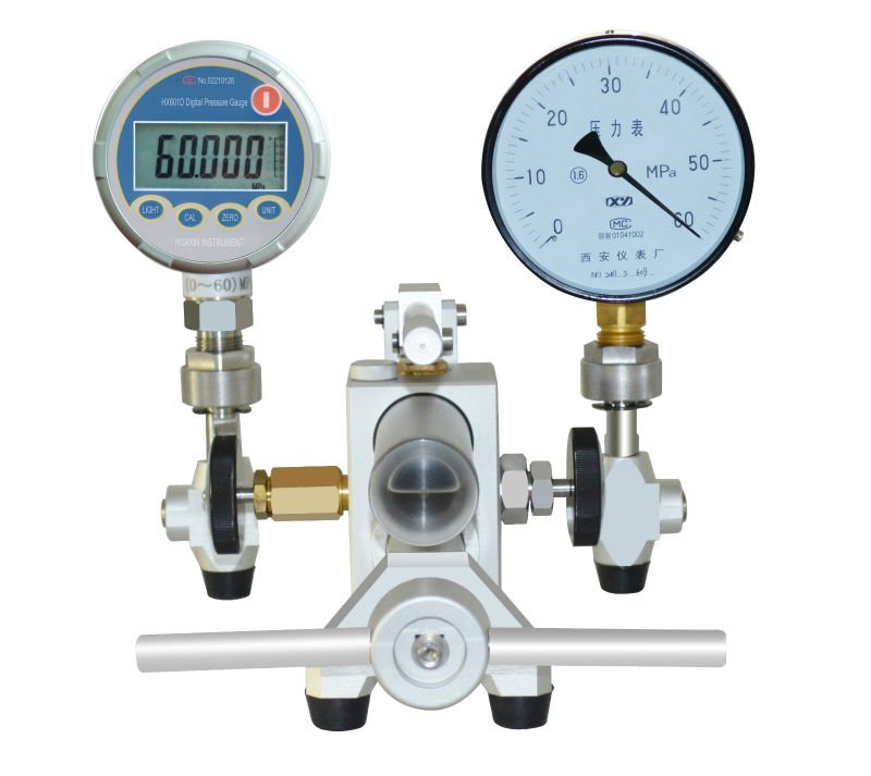 HS705 Aluminum Shell Pressure Hydraulic Comparator