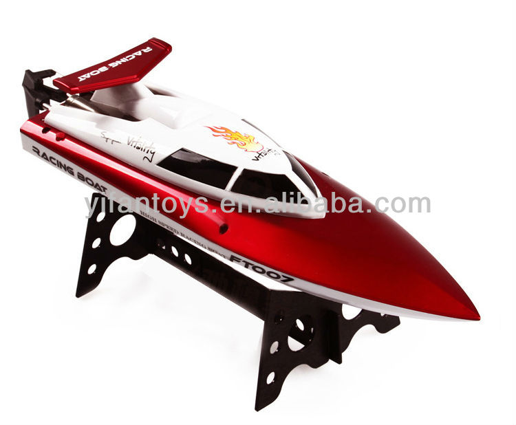 RC boat update version High speed racing boat FT009 hobby model 4CH RC yacht