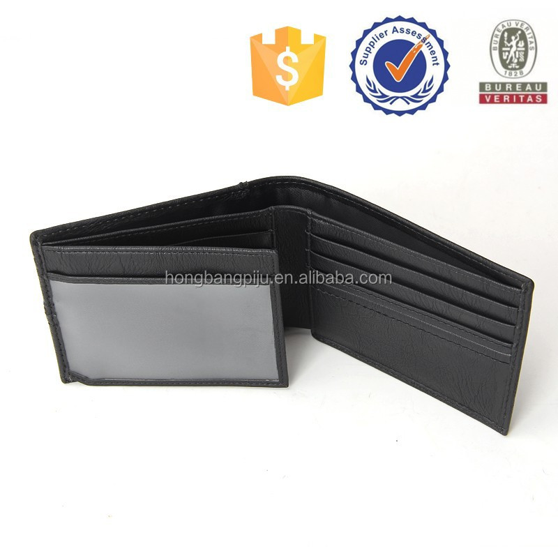 Factory direct pricing for designer wallet with coin pocket, custom business wallet