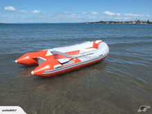 4.7m Fibreglass Inflatable Boat for water sports with CE certification