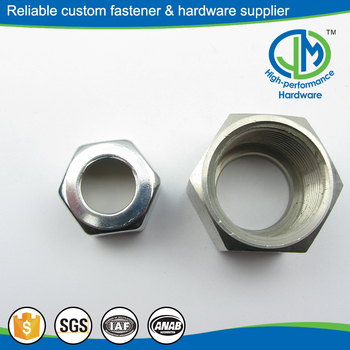 Durable modeling stainless steel sleeve self lock nuts