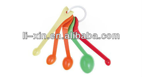 Measuring spoon, Plastic spoon, Plastic measuring tool