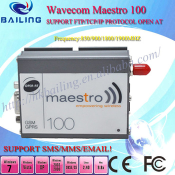 Cheapest gsm rs232 modem support TCP/IP AT&STKcommand mastro 100 with Q24plus module