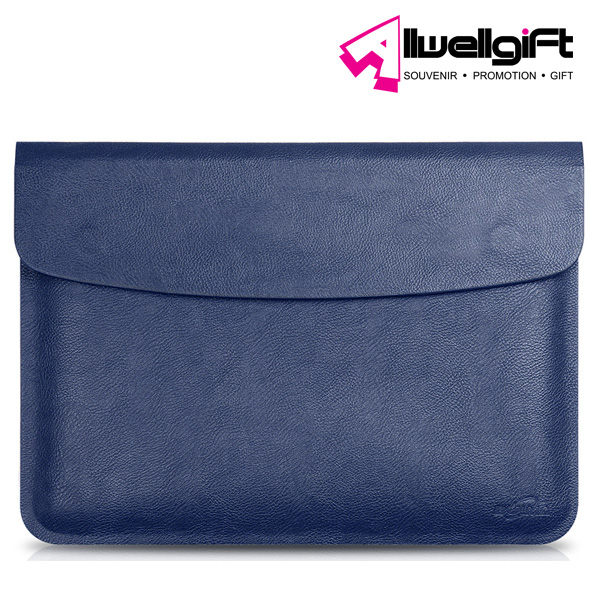Durable Waterproof PU Leather Notebook Laptop Computer Wallet Bag Case Sleeve for MacBook Air / Pro 13.3-Inch