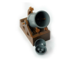 Custom plastic creative cannon model toy OEM educational model toys