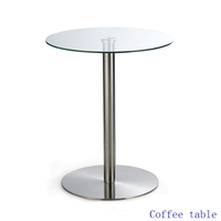 Glass Furniture Director Office Center Table