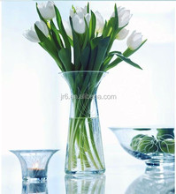 Hot Selling Effiel Colored Different Types Glass Vase