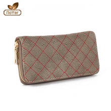 Attractive design Ladies quilted effect design your own women wallet