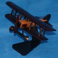 Useful customized color wood airplane