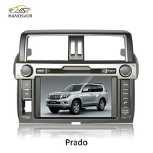 radio for toyota prado vx 2011 built in navigation car dvd gps player Bluetooth