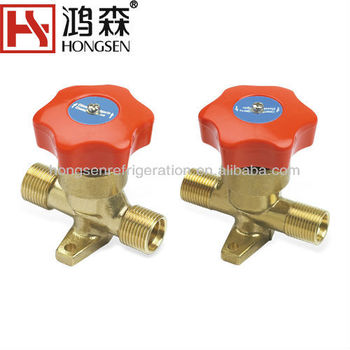 O-Ring Type Diaphragm Hand Valve Shut Off Valve