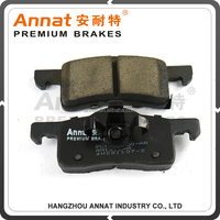 advanced technology carbon metallic disc brake pads set for jeep Cherokee auto parts