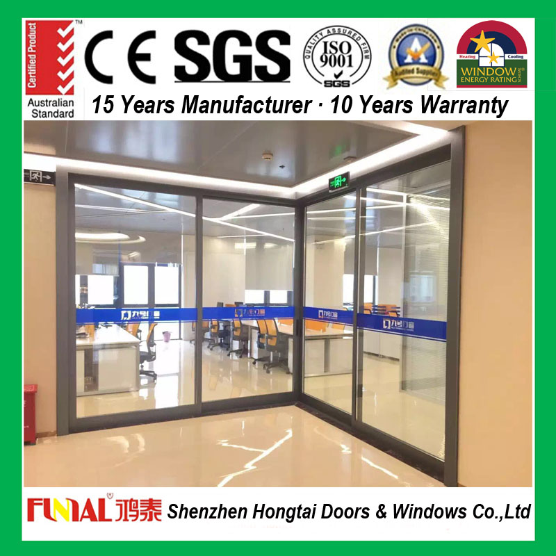 Professional aluminum alloy sliding door in alibaba
